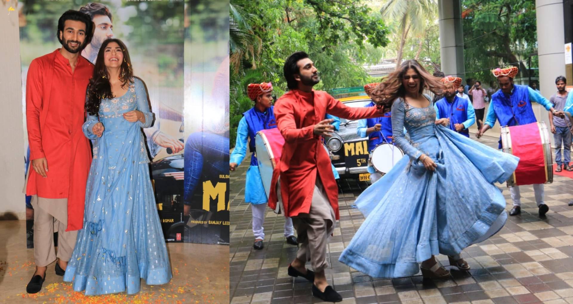 शरमिन सहगल और मीजान जाफरी ने लॉन्च किया मलाल का दूसरा सॉन्ग, तस्वीरों में देखिए फिल्म के कास्ट की मस्ती