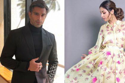 Karan Singh Grover And Hina Khan