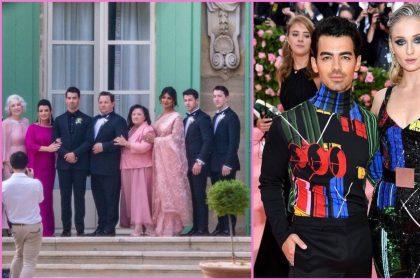 सोफी टर्नर और जो जोनस की शादी में प्रियंका चोपड़ा निक जोनस सहित पूरा परिवार (फोटो-इंस्टाग्राम)