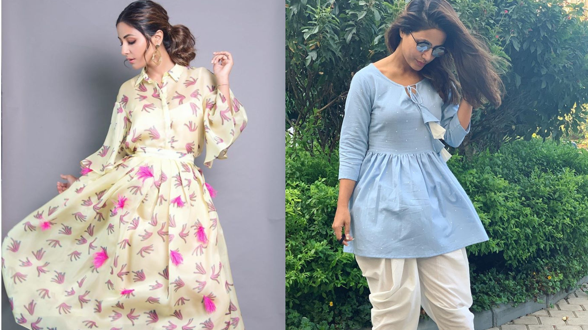 हिना खान के ये 5 खूबसूरत आउटफिट गर्मियों में आप भी करें ट्राय, कंफर्ट के साथ आपको मिलेगा स्टाइलिश लुक