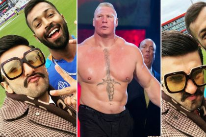 Ranveer Singh Hardik Pandya WWE Wrestler Brock Lesnar Paul Heyman sent legal notice to actor