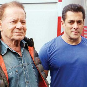 Salman Khan Happy Fathers Day Salim Khan