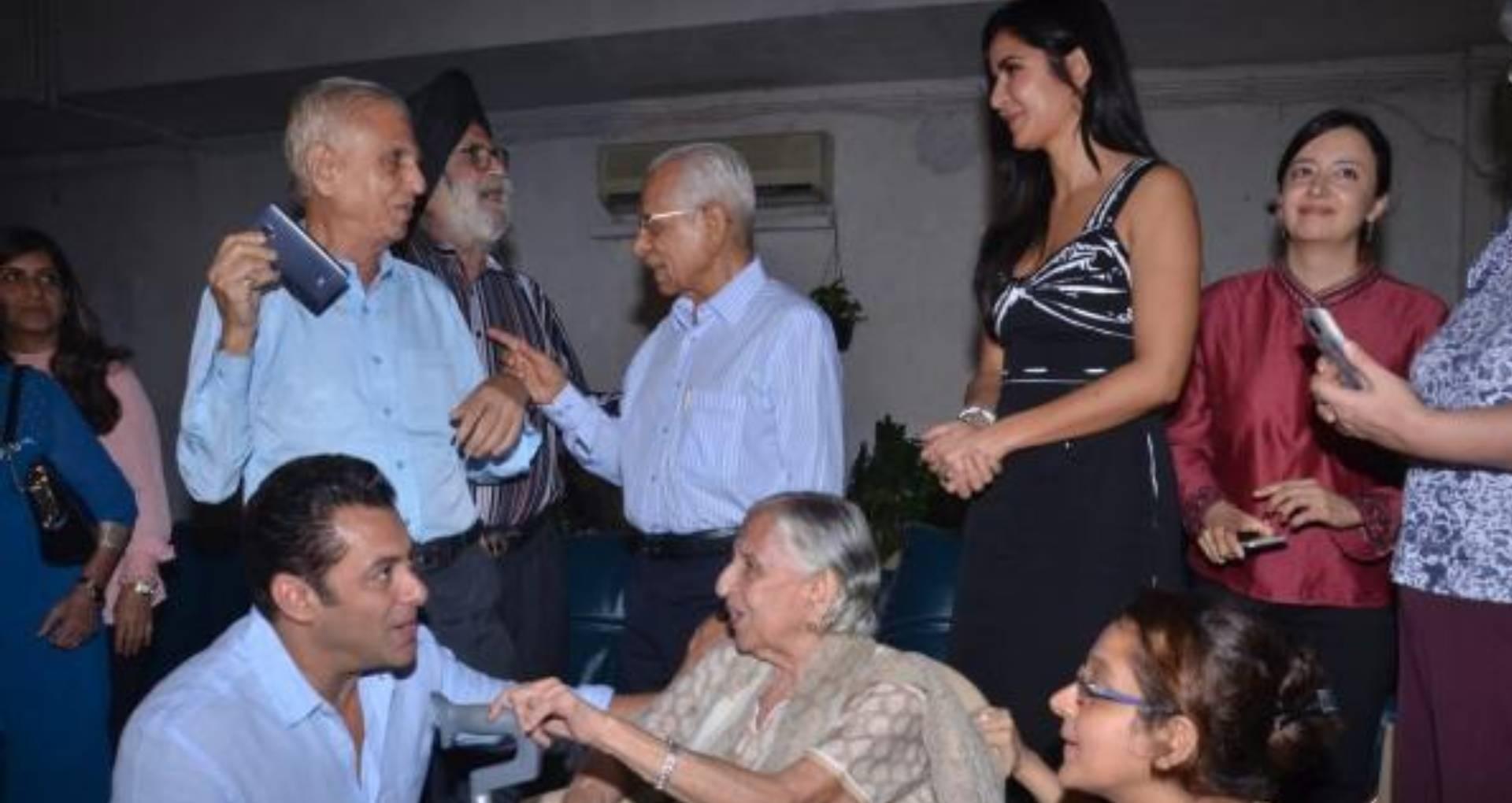 सलमान खान और कैटरीना कैफ का भारत के लिए जारी है प्रमोशन, 1947 के विभाजन का सामना करने वालों से की मुलाकात