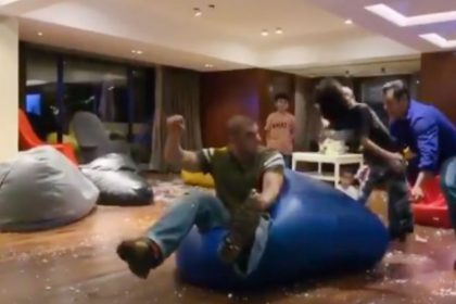 Salman Khan having fun with Sohail Khan son Yohan shares video on social media