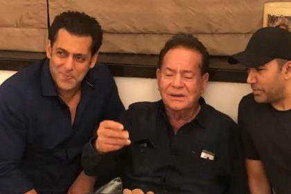Salman Khan shares video of father Salim Khan singing a song on instagram