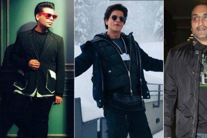 Shah Rukh Khan wrote a heartfelt note for Karan Johar and Aditya Chopra