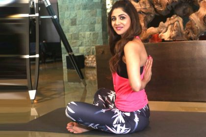 Shilpa Shetty Yoga Day