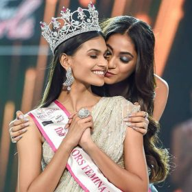 Suman Rao crowned Miss India 2019 Femina Miss India 2019 Shivani Jadhav Shreya Shanker