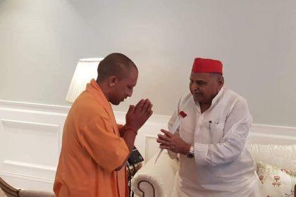 Yogi Adityanath meet Mulayam Singh Yadav