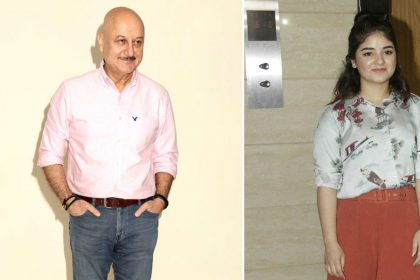 Anupam Kher One Day Movie Zaira Wasim