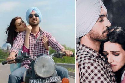 Arjun Patiala movie song Dil Todeya launch Diljit Dosanjh Kriti Sanon Varun Sharma