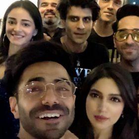 Bhumi Pednekar Birthday Ayushmann Khurrana Aparshakti Khurrana Pati Patni Aur Woh Movie Kartik Aaryan Ananya Pandey