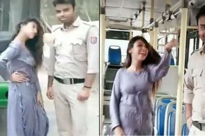 Girl made dance video in DTC bus might cost 3 staffers job video viral Sapna Choudhary