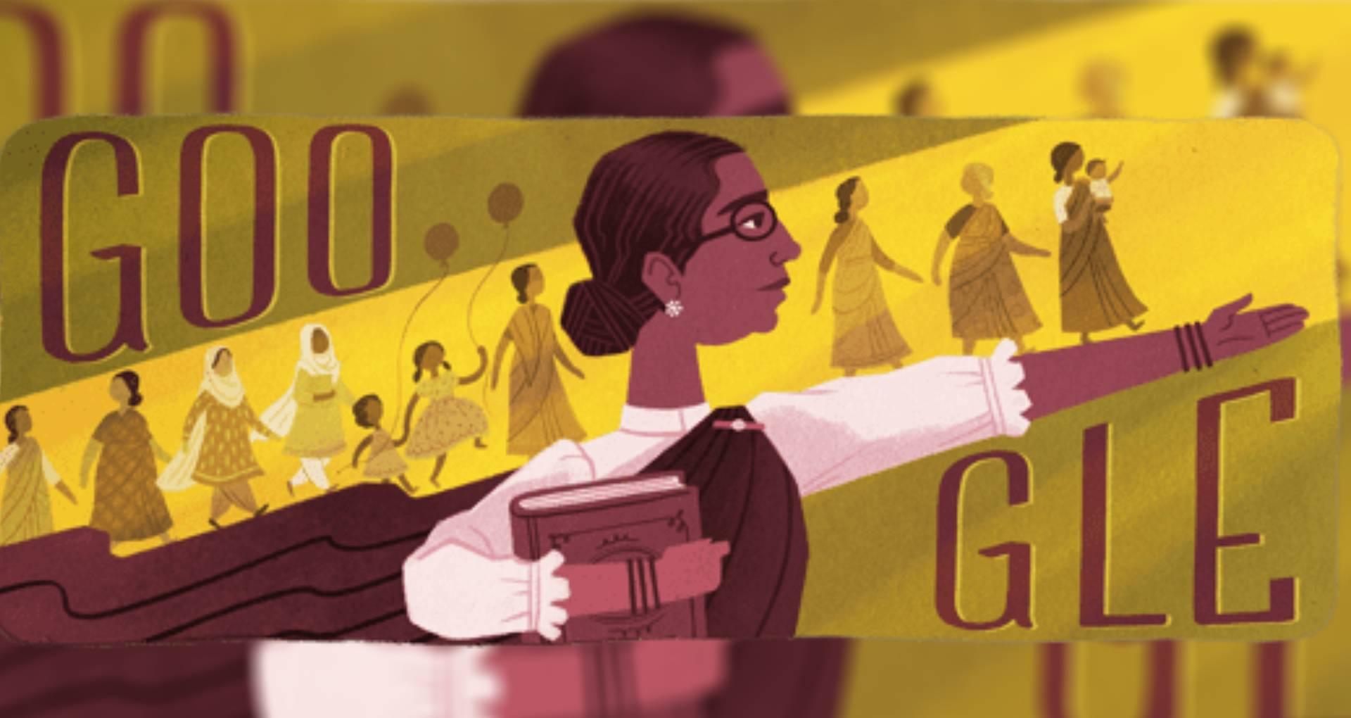 Google Doodle: देश की पहली महिला विधायक डॉ. मुथुलक्ष्मी रेड्डी का गूगल ने बनाया डूडल, समाज के लिए किया ये काम