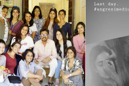 Irrfan Khan Kareena Kapoor Khan Radhika Madan Angrezi Medium