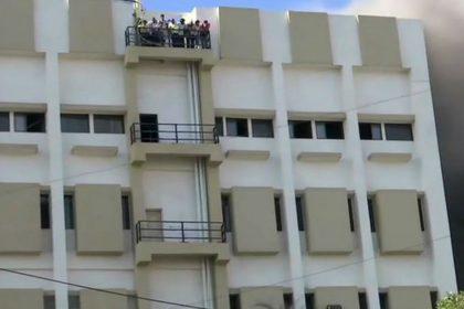 MTNL Building fire Bandra Mumbai rescue operations Mahanagar Telephone Nigam Limited
