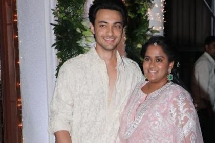 Ayush Sharma And Arpita Khan
