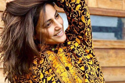 Hina Khan no makeup look
