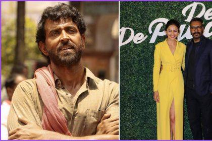 ऋतिक रोशन की सुपर 30 ने पछाड़ा अजय देवगन की दे दे प्यार दे को (फोटो-इंस्टाग्राम)