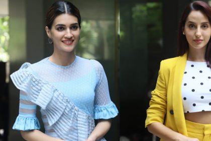 Kriti Sanon And Nora Fatehi