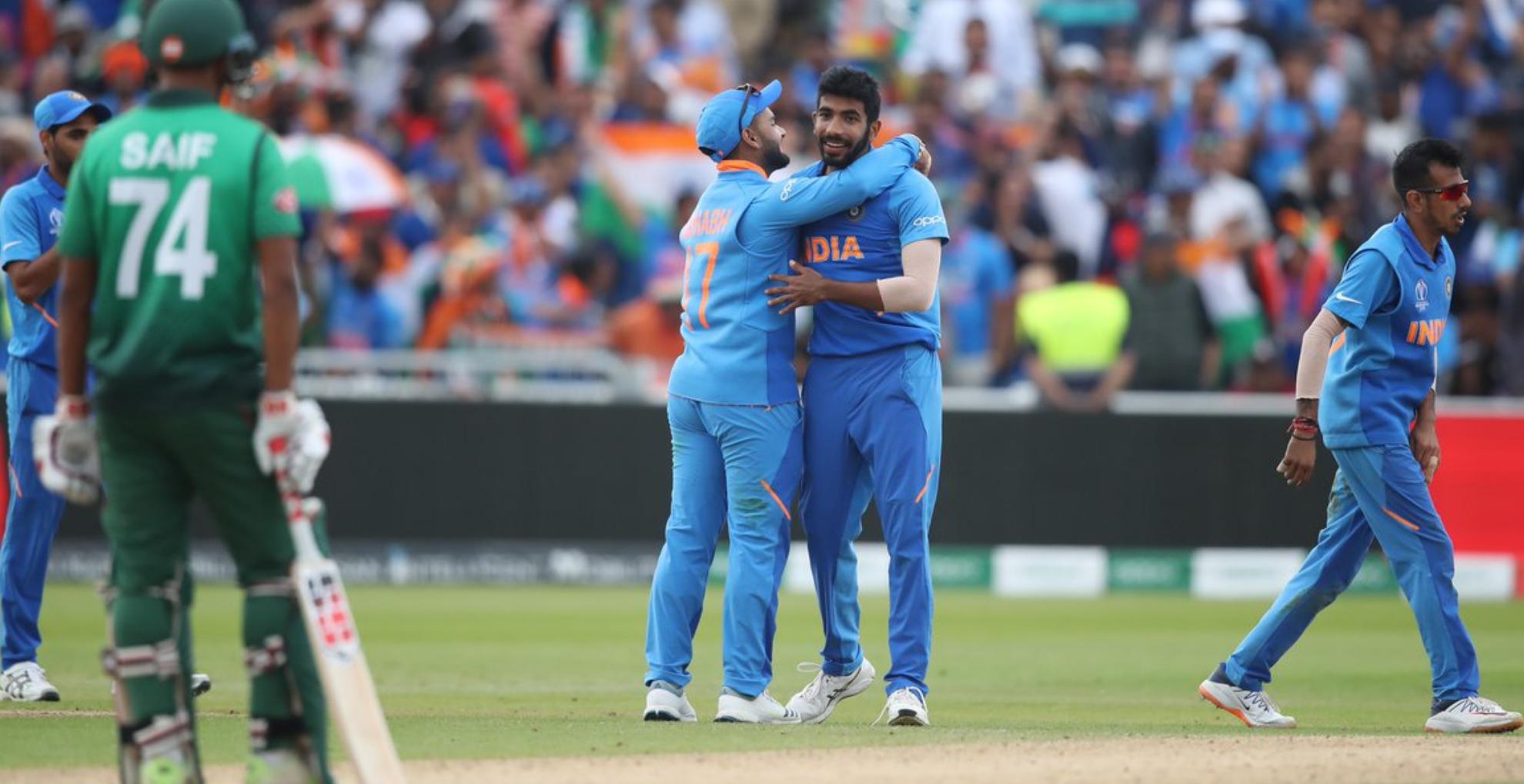 World Cup 2019: भारत ने बांग्लादेश को 28 रन से हराया, 7वीं बार सेमीफाइनल में पहुंची टीम इंडिया