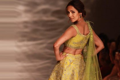 Malaika Arora At Indian Couture Week 2019