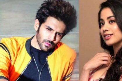 Kartik Aaryan And Janhvi Kapoor