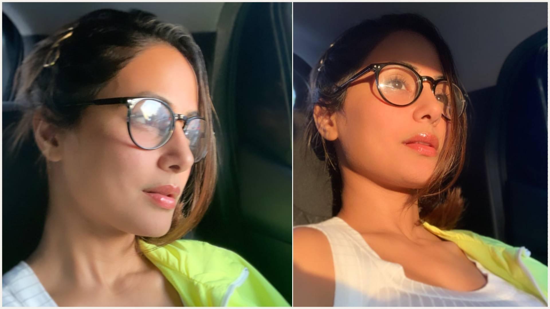 हिना खान ने सुबह की पहली सेल्फी के साथ की अपने दिन की शुरुआत, जरा इन तस्वीरों में देखिए एक्ट्रेस का लुक