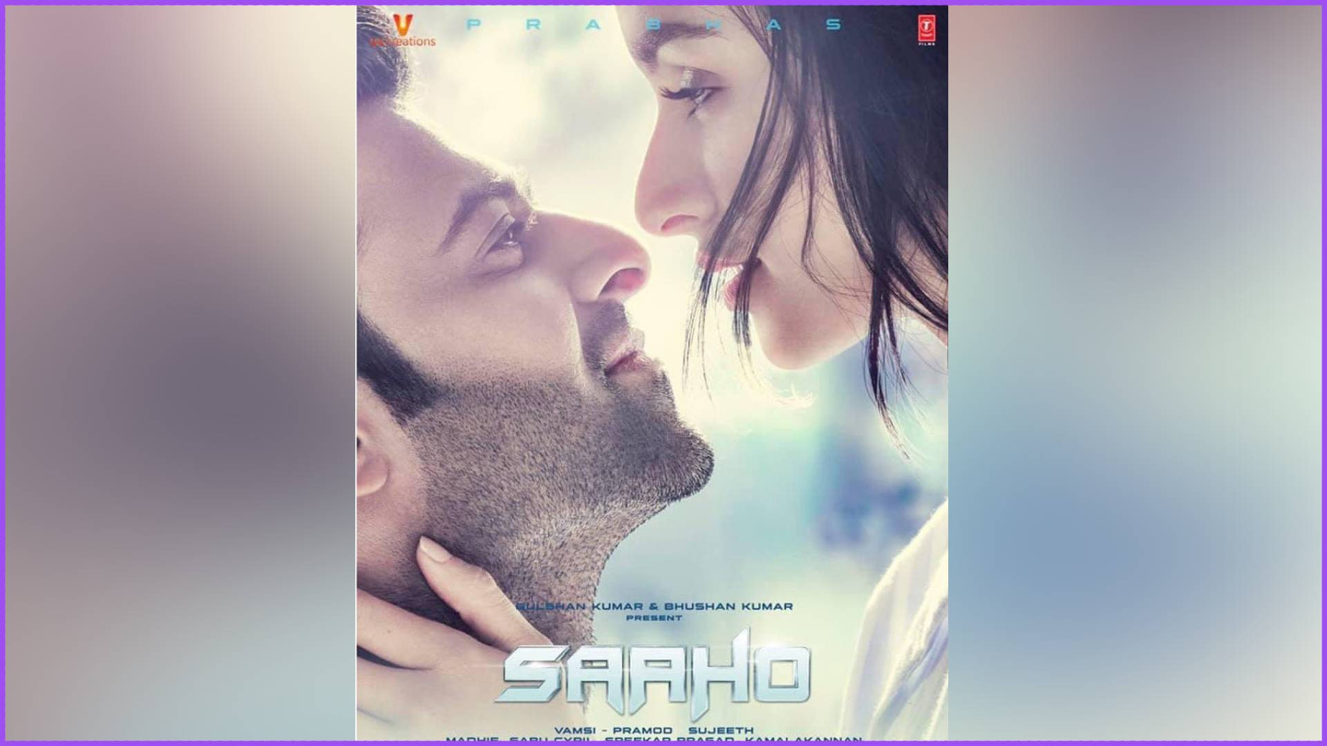 Saaho New Poster Out: साहो का तीसरा पोस्टर आउट, आंखों में आंखें डाले प्यार में डूबे नजर आए श्रद्धा-प्रभास