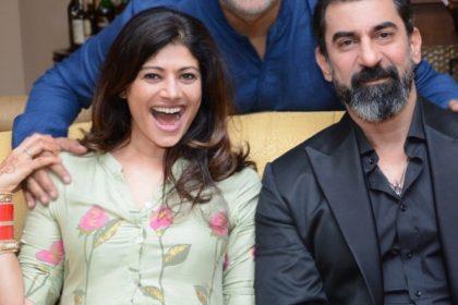 Pooja Batra With Nawab Shah