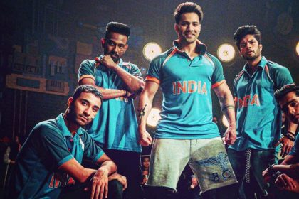 Varun Dhawan With Street Dancer 3D cast