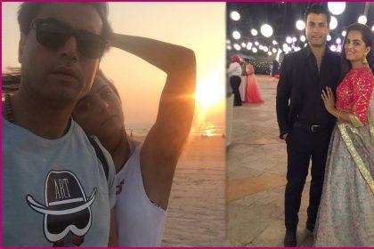 रूही चतुर्वेदी अपने बॉयफ्रेंड शिवेंद्र ओम साईंयोल के साथ (फोटो-इंस्टाग्राम)