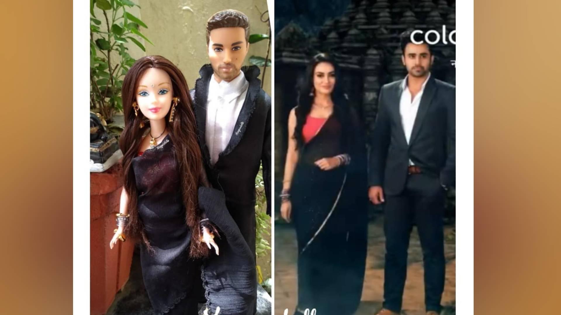 हिना खान के बाद मार्केट में छाई बेला और माहिर की डॉल, देखिए सोशल मीडिया पर वायरल हो रही ये तस्वीरें