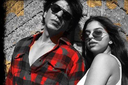 Shah Rukh Khan clicked photos Suhana Khan Ananya Panday Shanaya Kapoor