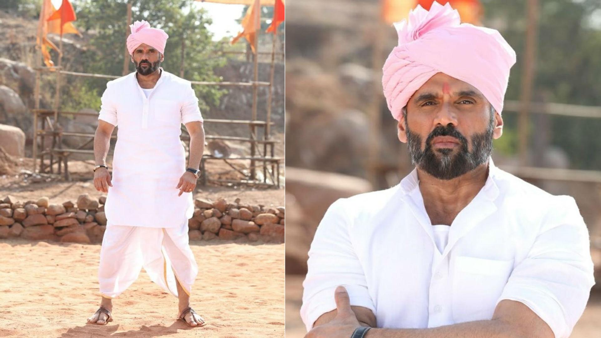 Pehlwaan Movie: सुपरस्टार किच्चा सुदीप की फिल्म में सुनील शेट्टी होंगे 'सरकार', रिवील हुआ फर्स्ट लुक