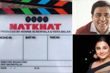 Vidya Balan Ronnie Screwvala Natkhat Movie