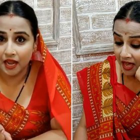 Vidya Balan shares her hilarious TikTok Video Instagram Mission Mangal Movie