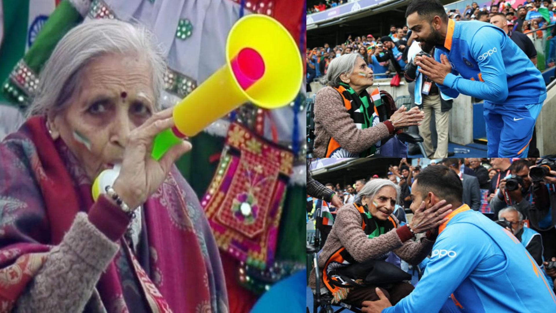 87 साल की चारुलता पटेल बनीं इंटरनेट सेंसेशन, मैच जीतने के बाद मिलने पहुंचे विराट कोहली-रोहित शर्मा