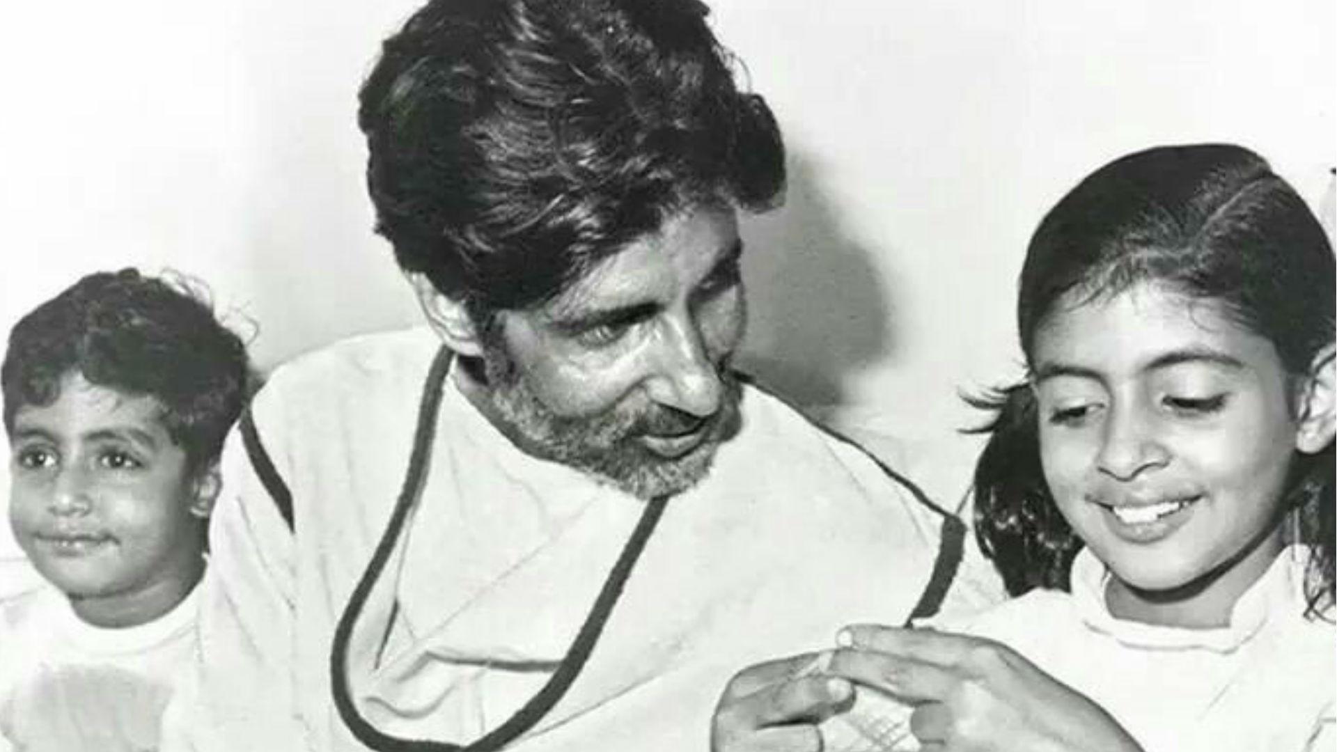 अभिषेक बच्चन ने शेयर की 37 साल पुरानी तस्वीर, बताया आज क्यों मना रहे हैं अमिताभ बच्चन का जन्मदिन?
