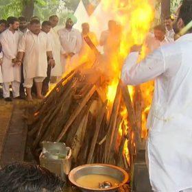 Arun Jaitley Funeral Son Rohan Jaitley
