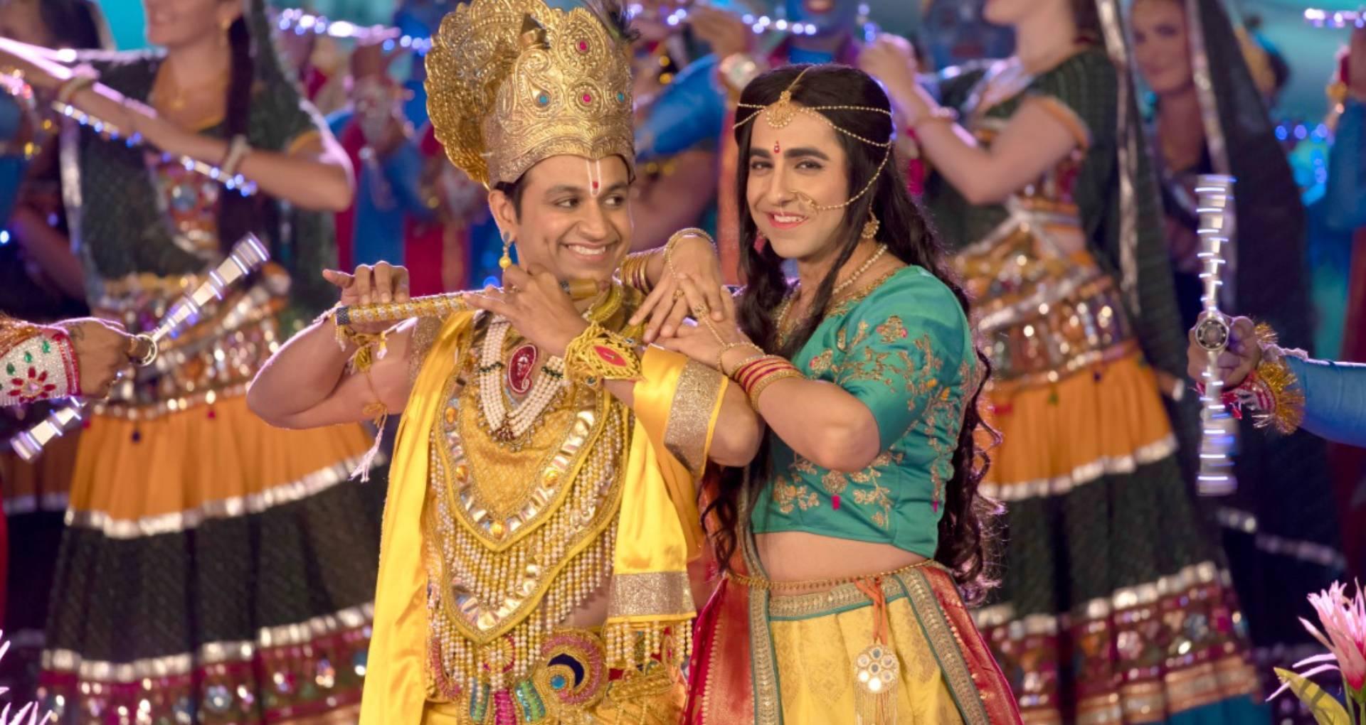 Radhe Radhe Song: ड्रीम गर्ल का पहला गाना राधे-राधे रिलीज, भगवान कृष्ण के अवतार में नाचते दिखे आयुष्मान खुराना