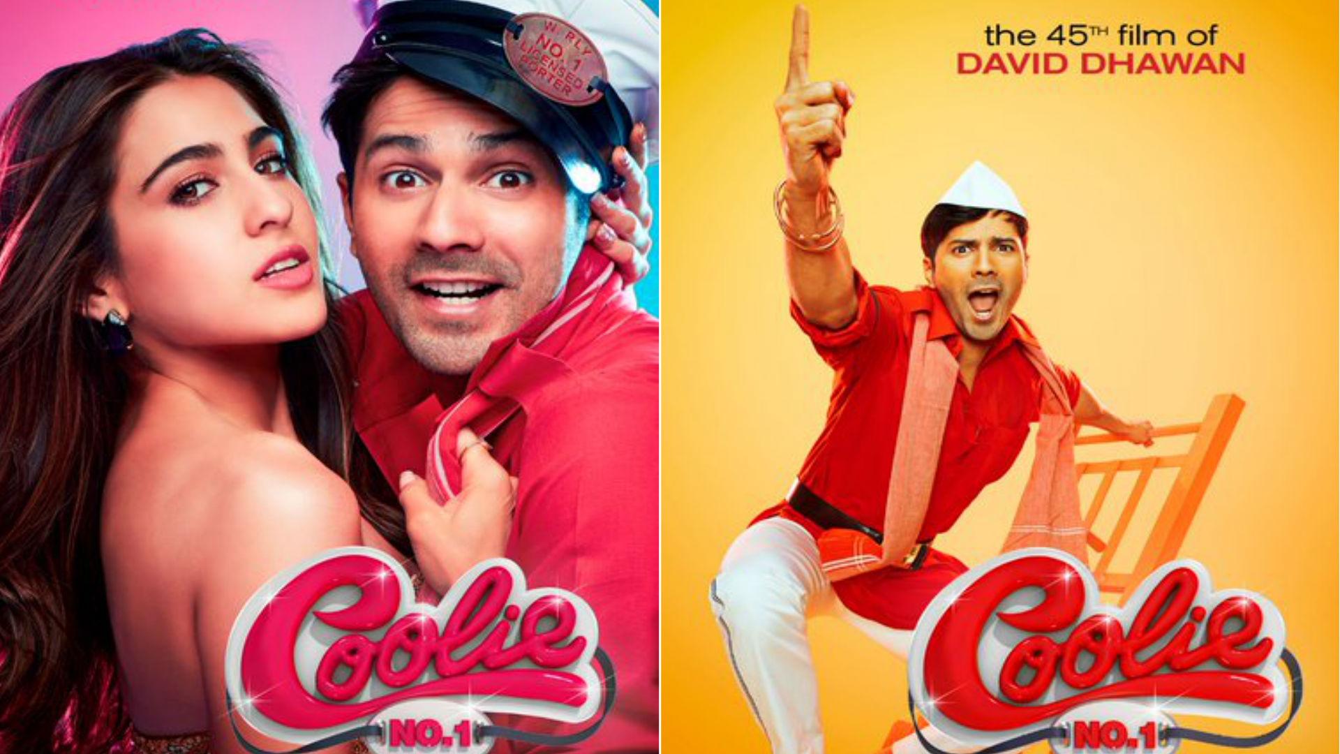 Coolie No 1 Movie: वरुण धवन-सारा अली खान की फिल्म के 3 पोस्टर आउट, डेविड धवन ने बताई रिलीज डेट