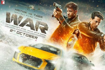 Hrithik Roshan Tiger Shroff War Movie Siddharth Anand