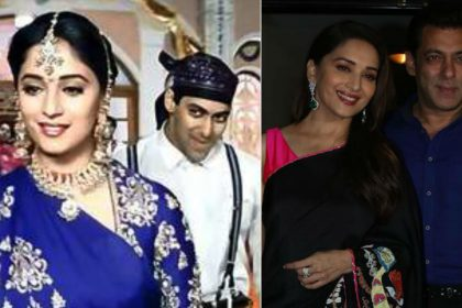 Hum Aapke Hain Koun Movie completed 25 Years Salman Khan Madhuri Dixit Recreate Pehla Pehla Pyaar Hai song video photos