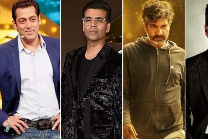 India Top 10 Most Influential Personalities in Entertainment Salman Khan SS Rajamouli Karan Johar Ranveer Singh