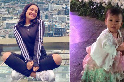 Indonesian little girl dance video viral when Neha Kakkar sung a song in Bali high profile wedding