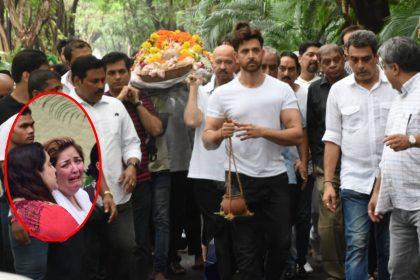 J Om Prakash Last Rite Hrithik Roshan sister