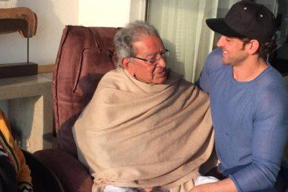 Hrithik roshan With Nana