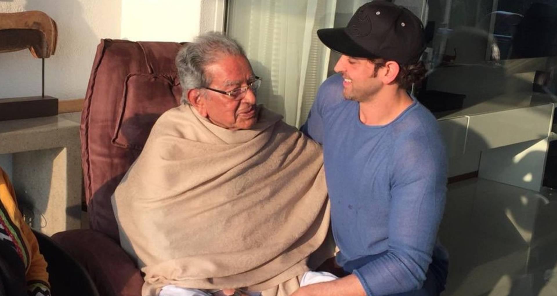ऋतिक रोशन के नाना और फिल्ममेकर जे ओम प्रकाश का निधन, बॉलीवुड में शोक की लहर
