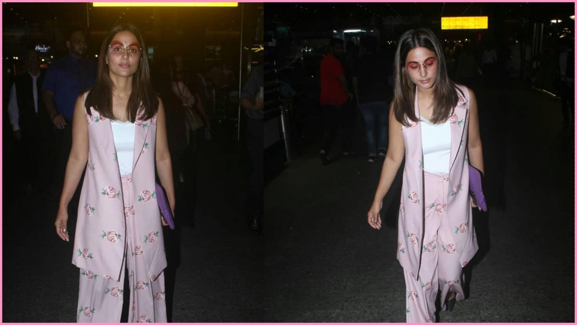 हिना खान जब बिना मेकअप एयरपोर्ट पर हुईं स्पॉट, तो सोशल मीडिया पर ट्रोलर्स ने उड़ाया मजाक, देखिए तस्वीरें